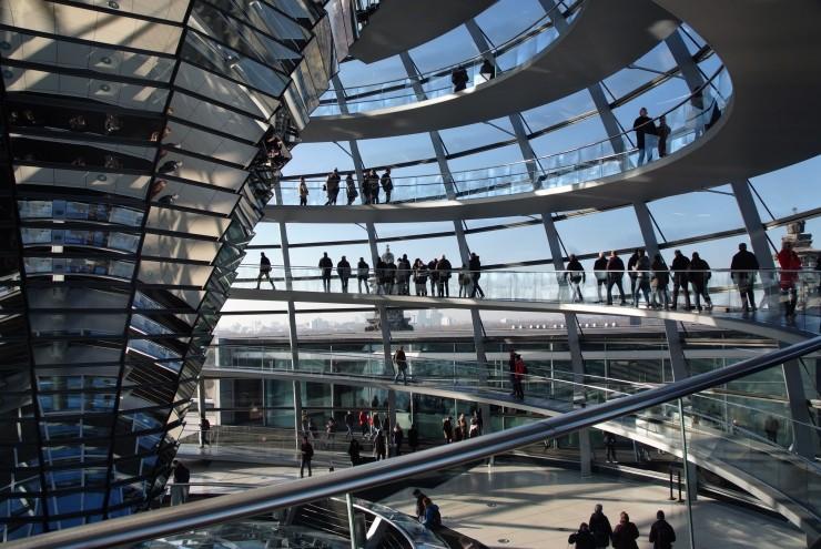 Berlin, Reichstag, MGV Concordia St. Annen, Graue Haare, Bielefeld